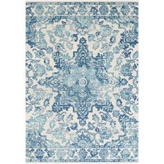 Bungalow Rose Almonte Dark Blue Area Rug Rug Size: Rectangle 2' x 3'