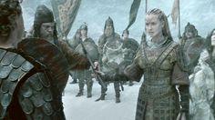 Brunhilde, Queen of Iceland (Kristanna Loken)Die Nibelungen