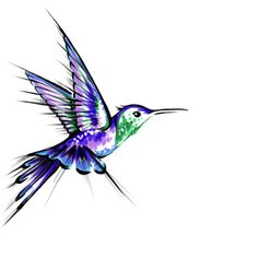 Hummingbird idea for my first - in honour of my daughter