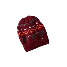 AEO PATTERNED BEANIE (105 RON) ❤ liked on Polyvore featuring accessories, hats, beanie cap hat, beanie hats, american eagle outfitters, print hats and beanie cap