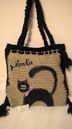 ArtJonKa: Taka sobie torba z kotem :)