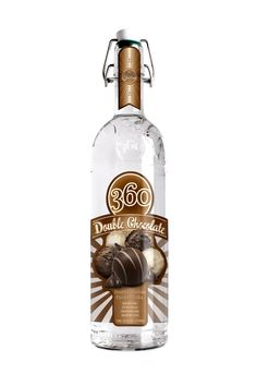A not-so-guilty pleasure. 360 Double Chocolate Flavored Vodka takes everything there is to love about chocolate, and then doubles it. Rich. Smooth. Silky. Decadent. Indulge yourself in the ultimate grown-up sweet treat.