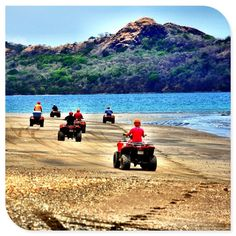 Discovered by Bill Dillard - There are plenty of adventurous activities available in Costa Rica! ATV riding along the...