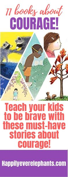 11 books about courage to teach kids to be brave! Good Character Traits, Character Education, Preschool Books, Book Activities, Creative Activities, Best Children Books, Childrens Books, Children Reading, Teaching Kids