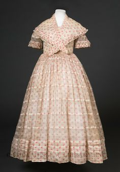 1860s dress suitable for a young lady