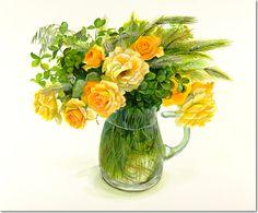 Цветы и растения Фуджико Хашимото (Hashimoto Fujico). Обсуждение на LiveInternet - Российский Сервис Онлайн-Дневников
