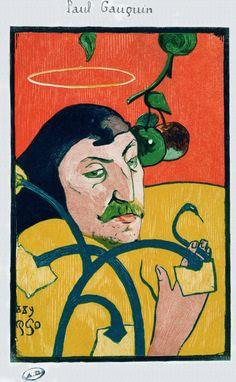 Self Portrait by Paul Gauguin, 1889
