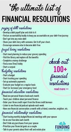 finance tips saving money Makeover your money in Check out these awesome New Years Resolutions ideas for some inspiration to take control of your finances. A list of over 100 financial resolution ideas! The Plan, How To Plan, Financial Peace, Financial Tips, Financial Planning, Financial Literacy, Financial Assistance, Budgeting Finances, Budgeting Tips