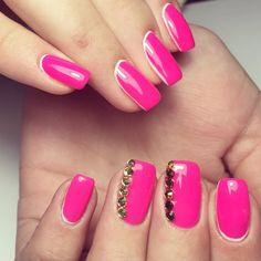 pink manicure #pink #manicure #nails #fashion #nailart #gelnails #instagood #nail #photooftheday #naildesign #pretty #gelpolish #nailswag #nailpolish #style #nailsoftheday #gel Pink Manicure, Gel Nails, Swag Nails, Gel Polish, Nail Designs, Nail Art, Pretty, Beauty, Style
