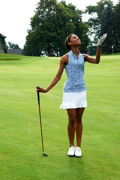 Look good, play good in Tzu Tzu Women's Golf Attire!