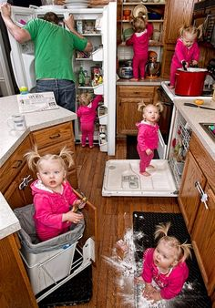 This is definitely what it feels like to have a toddler in the house!  lol