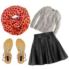 Cute Valentine's Day outfit idea!