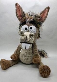 Pablo, the Rock-Donkey. Crochet Instructions English