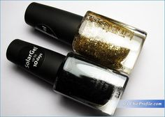Kinetics Solar Gel Goldy and Jet Black Nail Polishes Review, Swatches, Photos – Beauty Trends and Latest Makeup Collections | Chic Profile
