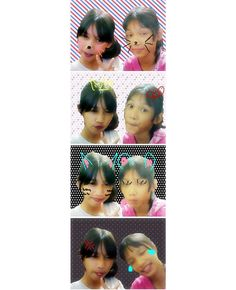 with my little sis again<3