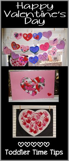 Valentine's Day projects  Daily activities/projects posted Great project for toddlers, preschoolers For more amazing ideas go to Toddler Time Tips @ https://www.facebook.com/toddlertimetips