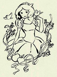 Snow White by Érica Nagai