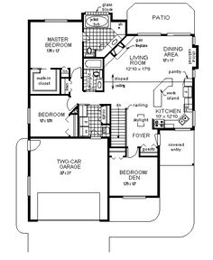COOL house plans offers a unique variety of professionally designed home plans with floor plans by accredited home designers. Styles include country house plans, colonial, Victorian, European, and ranch. Blueprints for small to luxury home styles. Ranch House Plans, Country House Plans, Best House Plans, Dream House Plans, Small House Plans, Australian House Plans, Australian Homes, Garage Bedroom, Ranch Style Homes