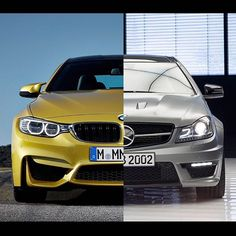 Which would you choose and why?  #BMW #Mercedes #c63 #amg #m3 #m4 #vividracing