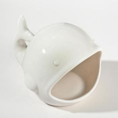 Ivory Whale Soap Dish -- cute little stocking stuffer