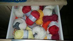 1. Schublade      Wolle