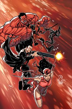 deviantART Picks 10/14/2014 Tuesday Edition #Thunderbolts #Marvel | Images Unplugged