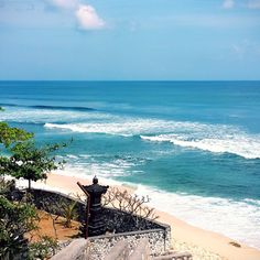 The water is sooo #Blue ;)  #uluwatu #Balangan #Beach #Bali
