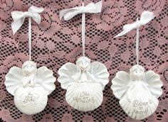 Angel Ornament Set of 3