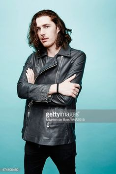 News Photo : Hozier poses for a portrait at the 2015 Billboard...