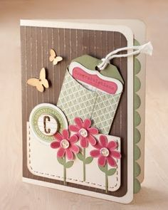 Pocket Card  ⊱✿-✿⊰ Follow the Cards and paper crafts board. Visit GrannyEnchanted.Com for thousands of digital scrapbook freebies. ⊱✿-✿⊰