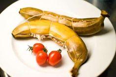 recette exotique banane farcie riz viande