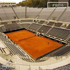 The great #tennis at Internazionali BNL d'Italia. The breathtaking scenery of the Centre Court, #Rome .  #IBI16