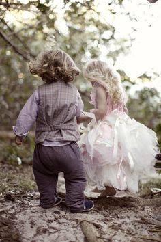 #TheLANEweddings  Beautiful Flower Girl dresses and Page Boy outfit