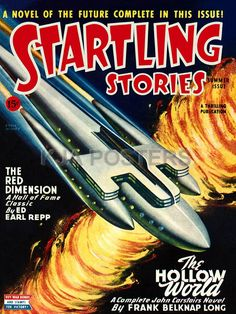 Startling Stories Science Fiction Magazine