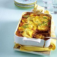 Kartoffel-Bolognese-Auflauf Rezept | LECKER