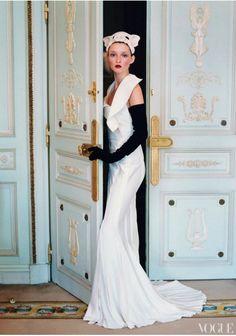 Love the door colours ! VOGUE 1999