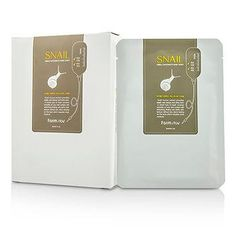 Visible Difference Natural Silk Mask Sheet - Snail - 10pcsx23ml