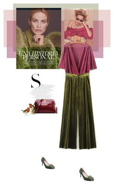 """""""Pleats"""" by theitalianglam ❤ liked on Polyvore featuring velvet and trends"""