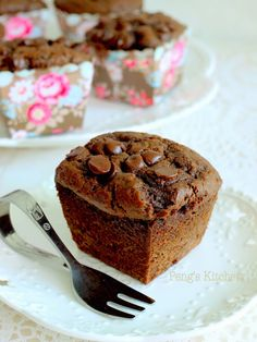 SIMPLE CHOCOLATE MUFFINS