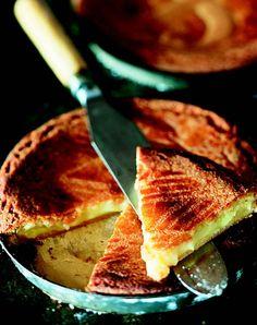 Le gâteau basque traditionnel