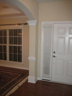Trim Carpentry, Home Repair, Tall Cabinet Storage, Garage Doors, Woodworking, Construction, Outdoor Decor, Room, Furniture