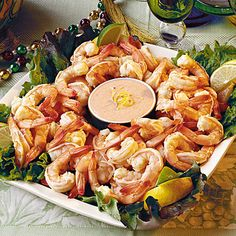 Cajun Recipes: Citrus-Marinated Shrimp with Louis Sauce < Host a Mardi Gras Party - Southern Living