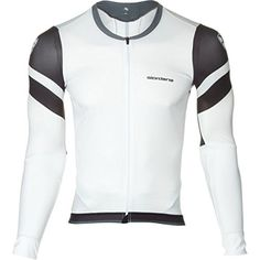 Giordana EXO System Long Sleeve Jersey  Mens WhiteBlack L ** Click image to review more details. (Amazon affiliate link)