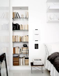 Always great to have a grand bookcase with all your favorite reads