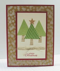 Oh Christmas Trees by WIP Paper Crafts - Cards and Paper Crafts at Splitcoaststampers