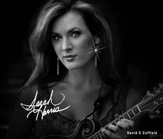 Sarah Harris... with Trinity River Band, Mandolin player and lead singer