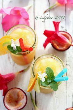 Cindystar: Cocktail al frutto della passione - Samoan Orange Passion Fruit Ade