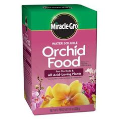 Miracle Gro 8 Oz Water Soluble Orchid Food