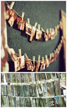 Excelente para mostrar fotografías de la sesión de compromiso. Marketing y regalos para los invitados al mismo tiempo.