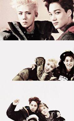 ~{EXO's Kai, Sehun}~ #Kai #Sehun #KimJongin #OhSehun #EXOK #EXO